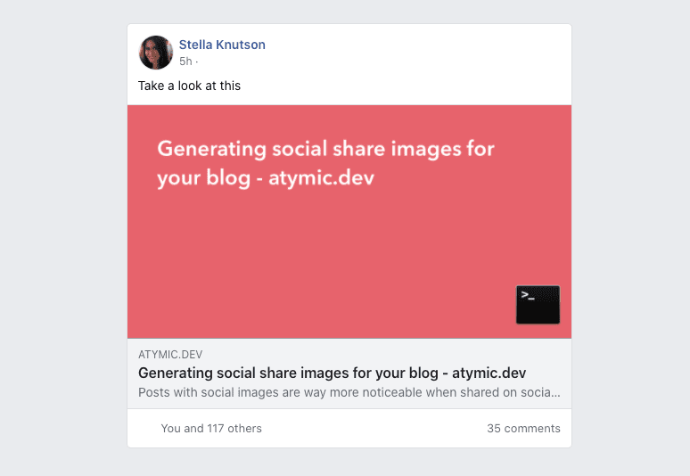 Open Graph Tags On Facebook